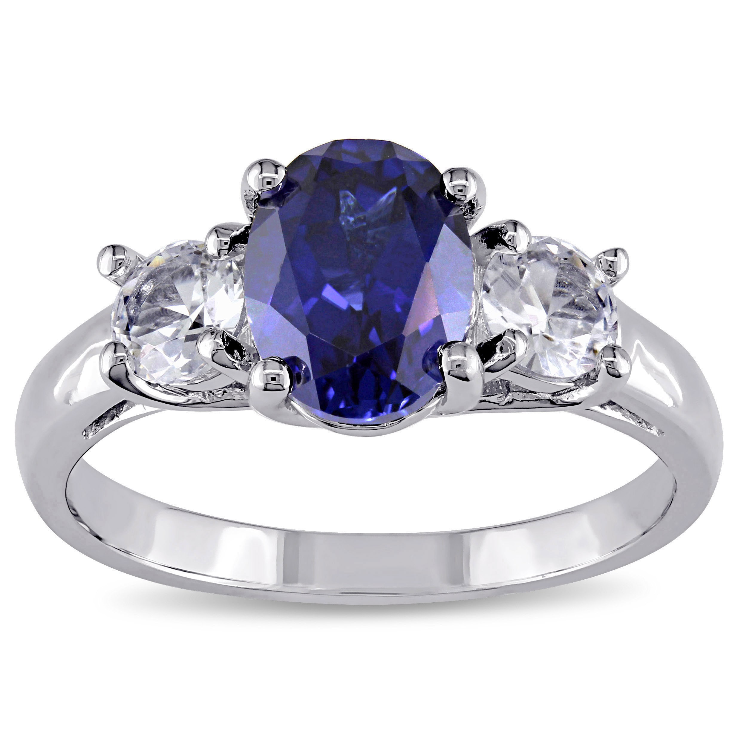 cut sapphire trilogy rings jewellery bands ring bridal cushion lugaro diamond and