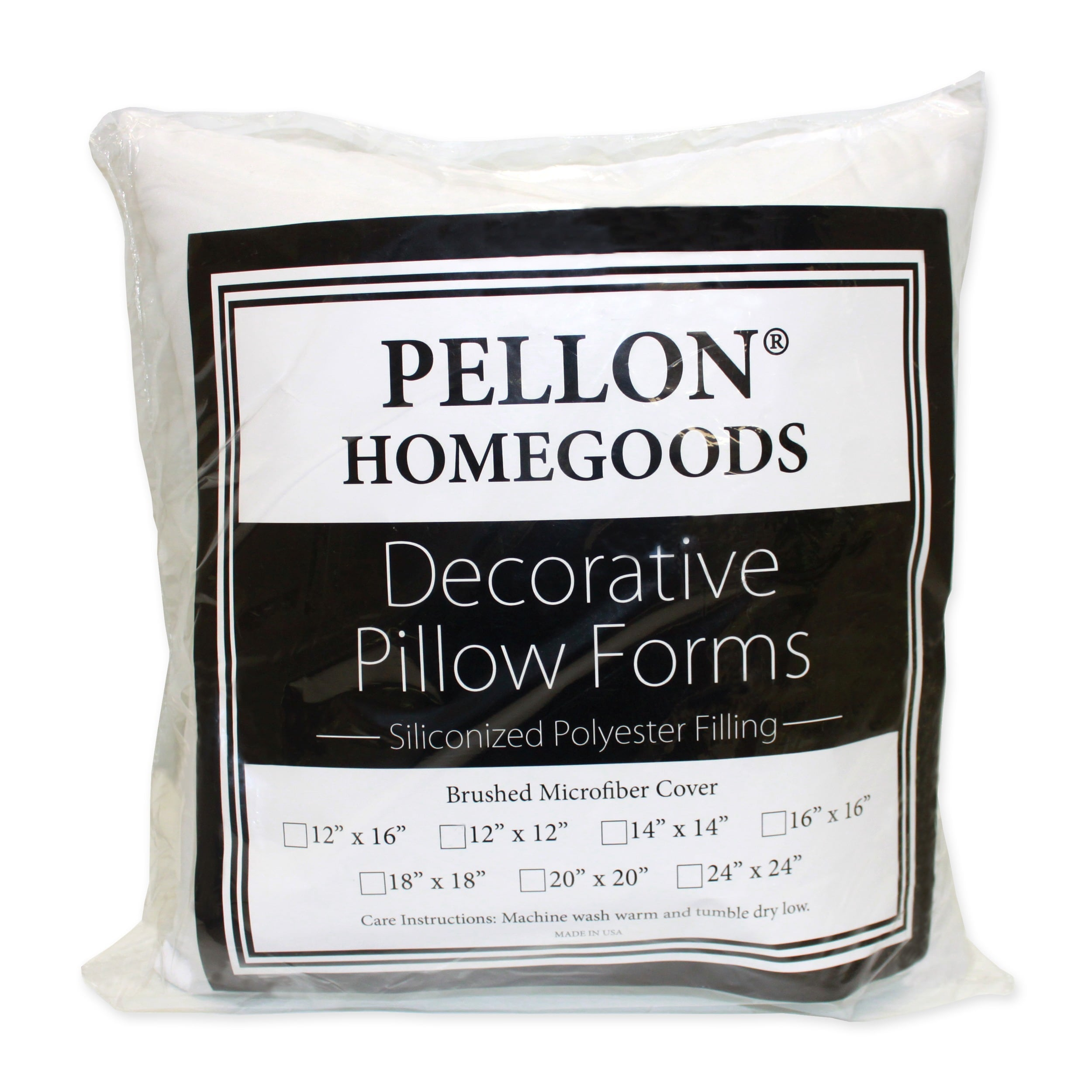Shop Pellon 4 Piece Decorative 20 Inch X 20 Inch Pillow Inserts Set