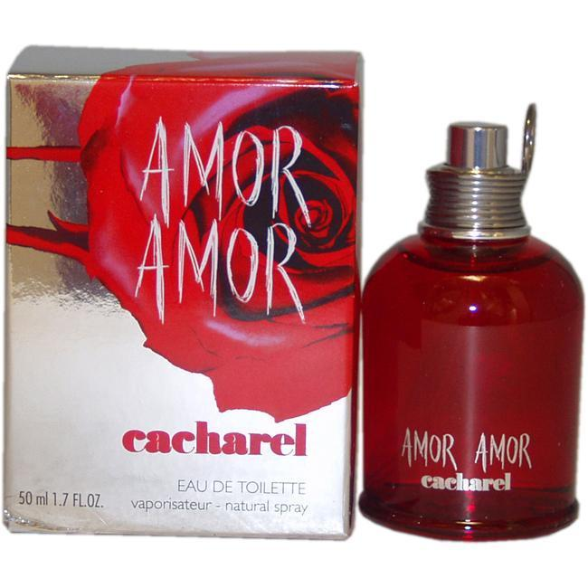 Shop Cacharel Amor Amor Womens 17 Ounce Eau De Toilette Spray