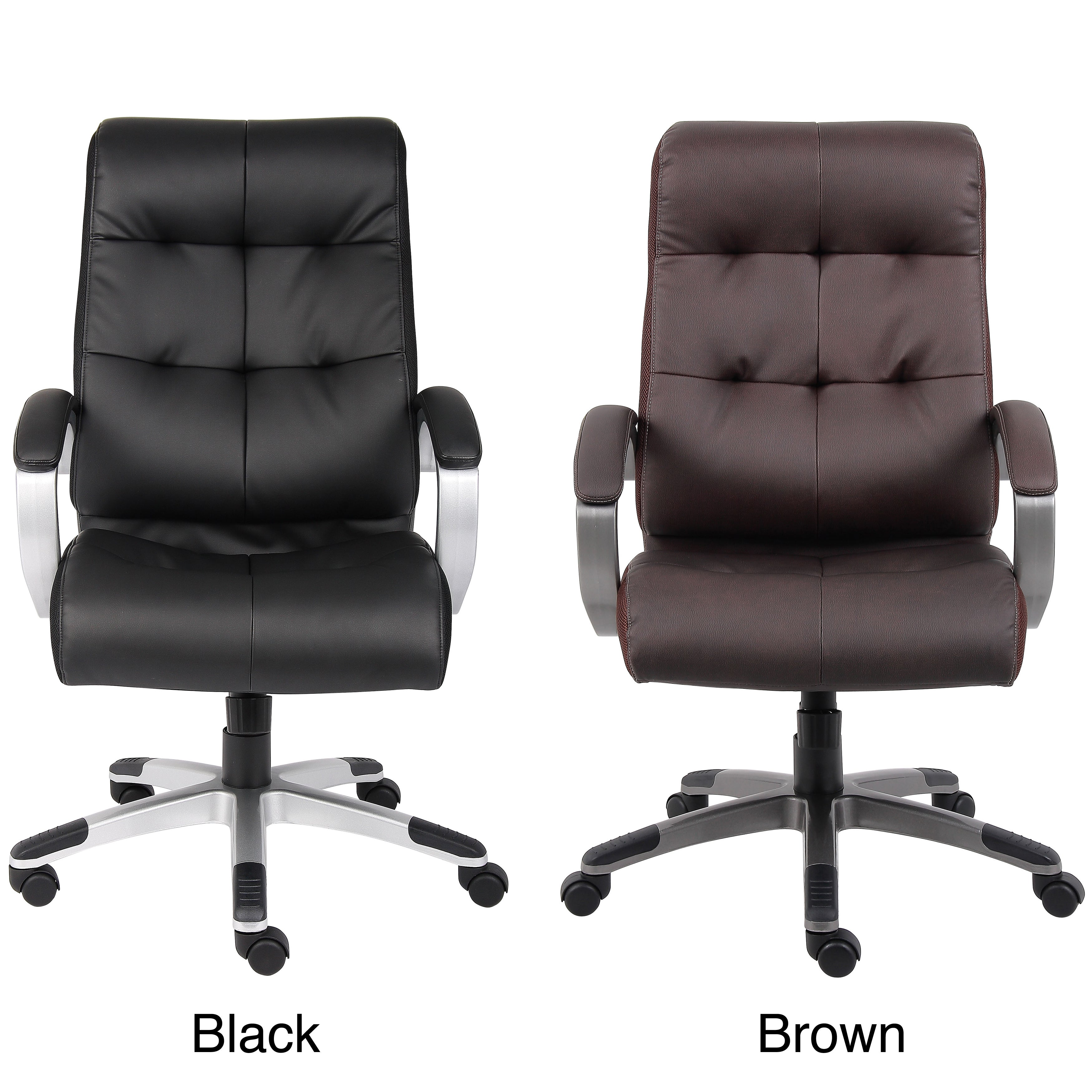 Boss Double Plush High Back Executive Chair Free Shipping Today 5394123