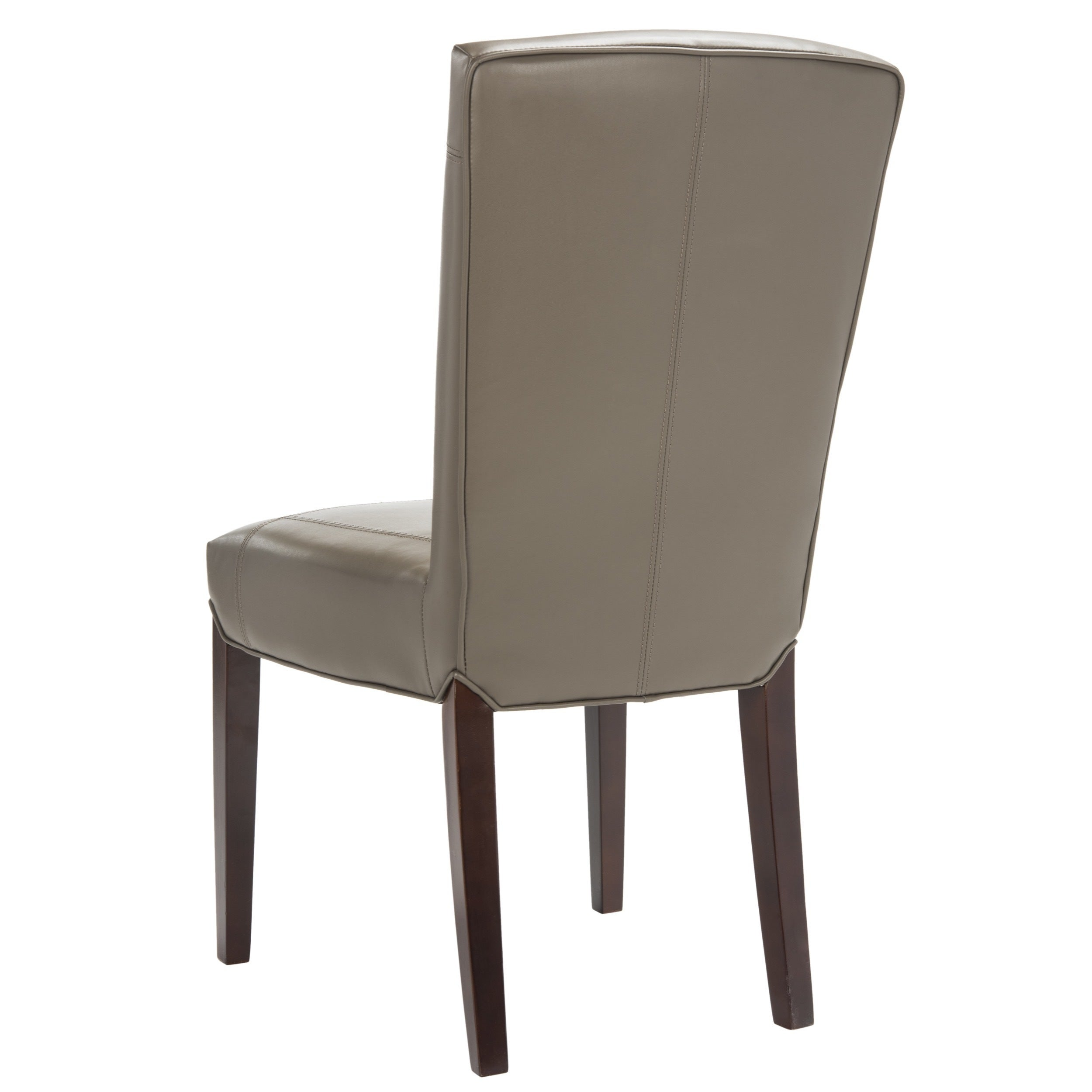 Safavieh Parsons Dining Bowery Brown Clay Leather Dining Chairs (Set Of 2)    Free Shipping Today   Overstock   13203439