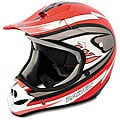 Red Adult Raider MX3 DOT-approved Lightweight Thermoplastic Helmet