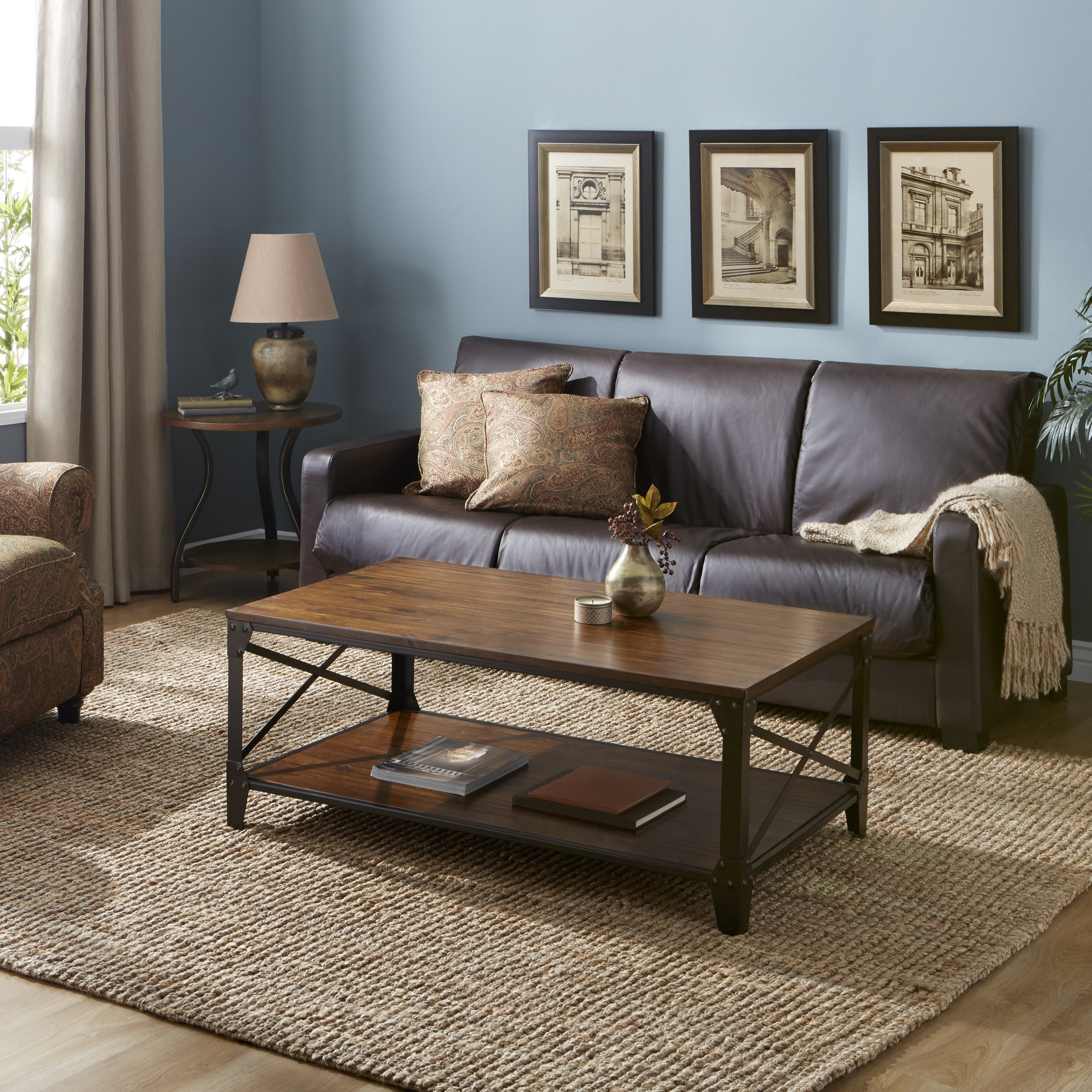 Shop Leather Futon Sleeper In Espresso   Free Shipping Today    Overstock.com   5503604