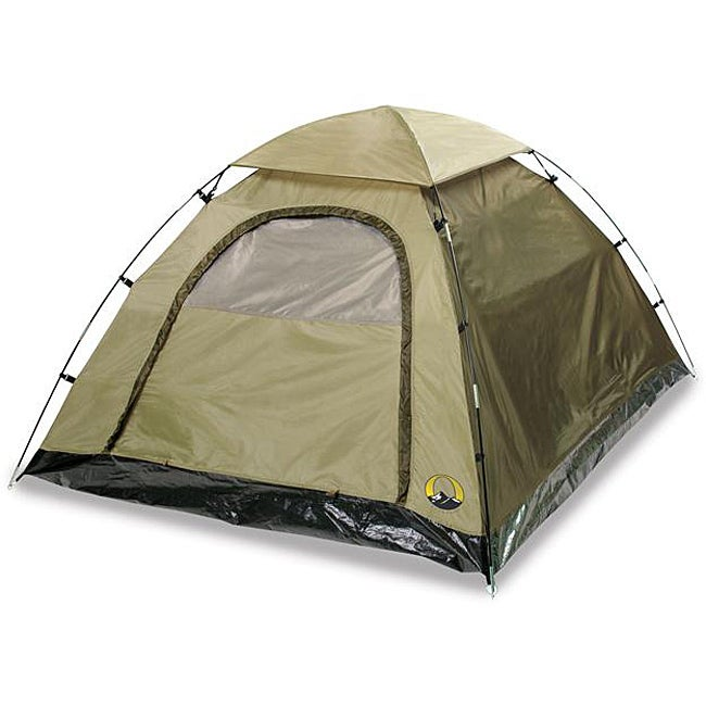 Stansport Olive Green Buddy Hunter Two Pole Quick Clip Nylon Dome Tent Overstock 5510289