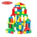 Melissa & Doug Set of 100 Wood Blocks