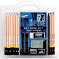 Pro Art 18-piece Drawing Set with Graphite and Charcoal Pencils