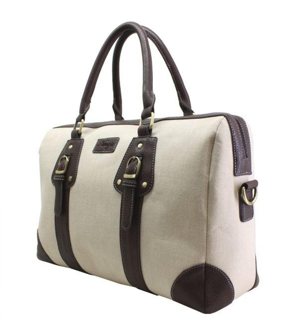 Nunzia Women S Beige Lily 13 Inch Laptop Tote Free Shipping Today 5530137