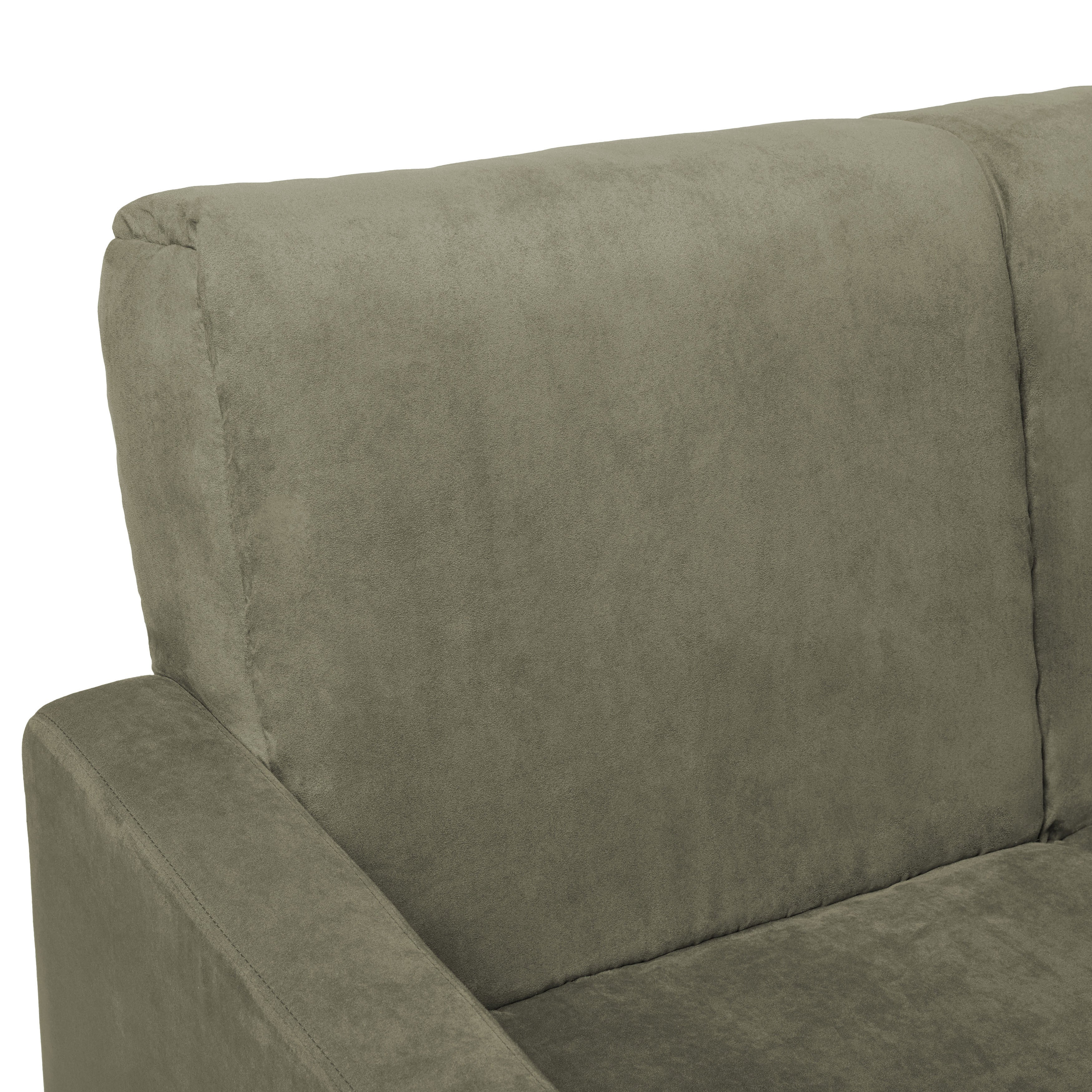 Shop Handy Living Trace Convert A Couch Sage Grey Microfiber Futon Sofa  Sleeper   Free Shipping Today   Overstock.com   5542801