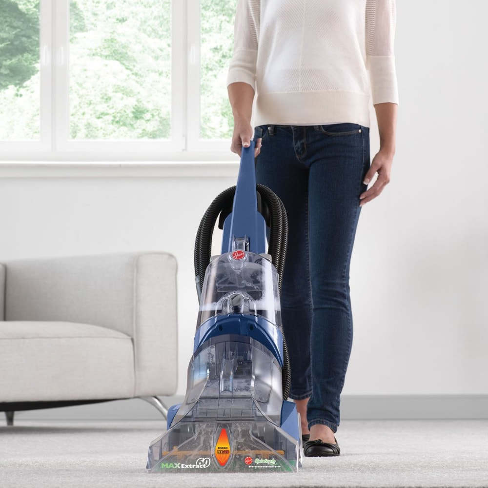 Hoover FH50220 MaxExtract 60 Pressure Pro Carpet Deep Cleaner Free