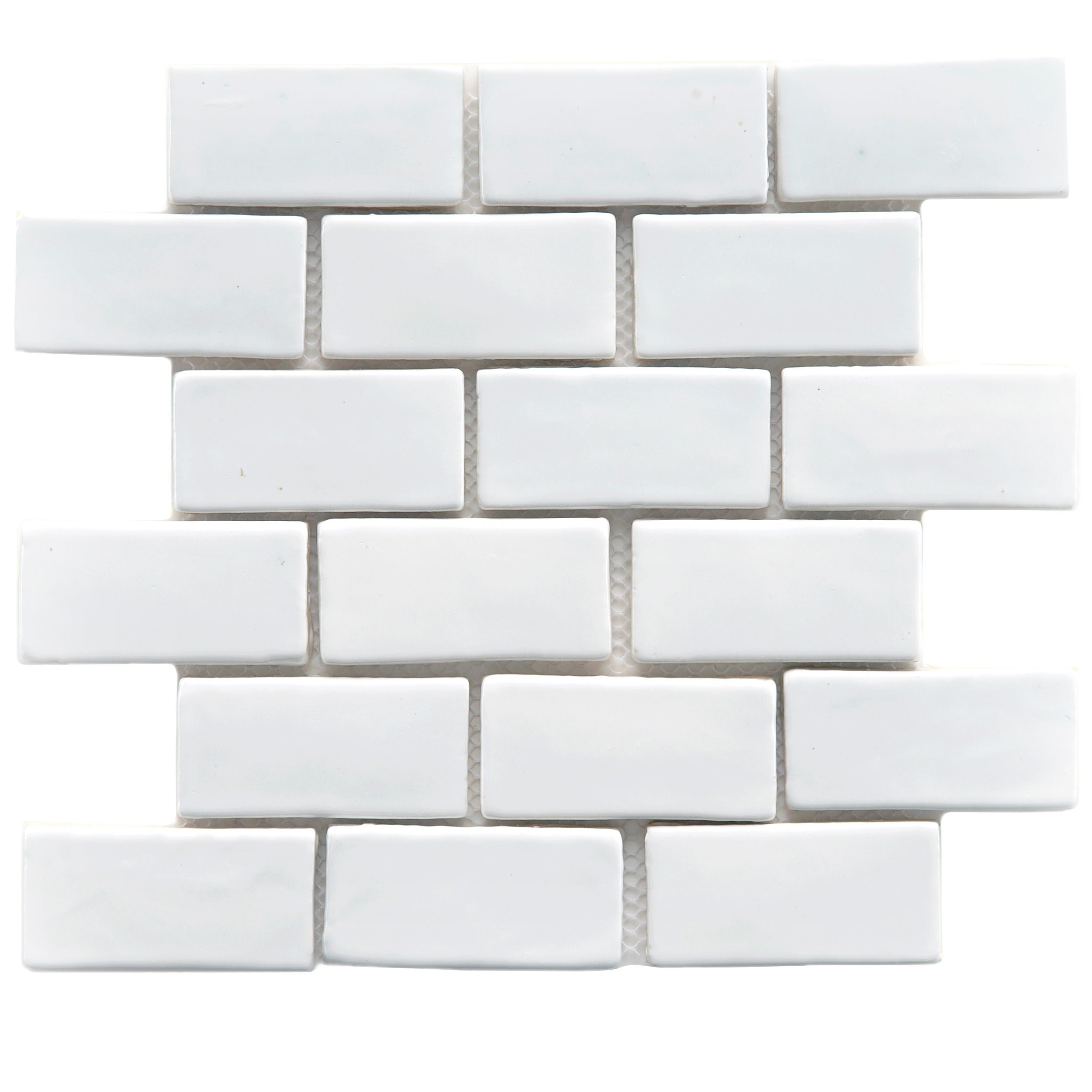 Somertile 12x12 in london subway white handmade ceramic mosaic tile somertile 12x12 in london subway white handmade ceramic mosaic tile pack of 5 free shipping today overstock 13339414 dailygadgetfo Gallery