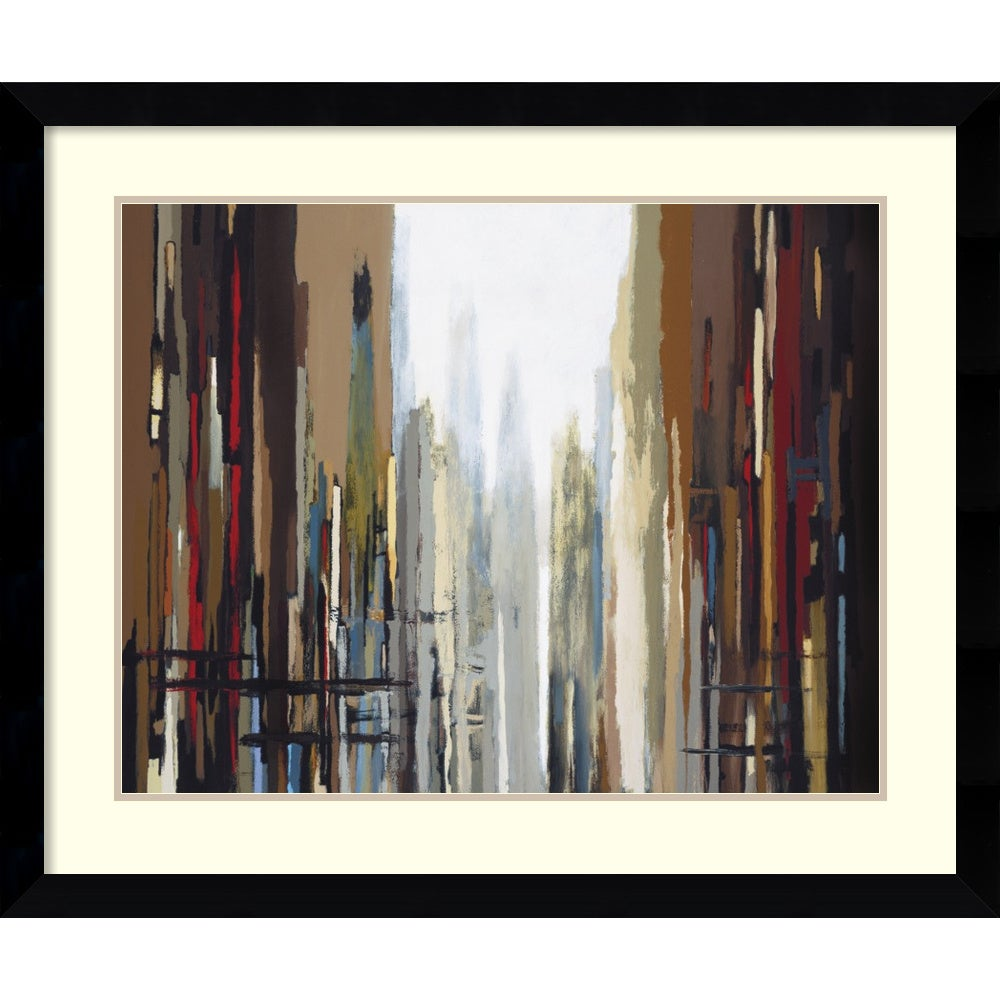 Shop Framed Art Print \'Urban Abstract No. 159\' by Gregory Lang 37 x ...