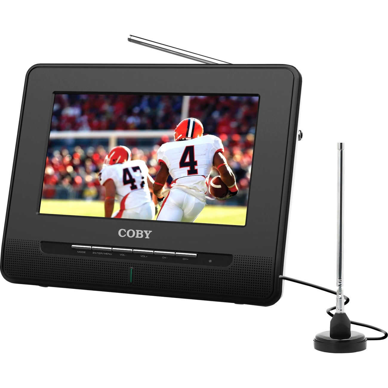 Shop Coby 9inch Portable Widescreen TFT Digital LCD TV - Free Shipping  Today - Overstock.com - 5630974