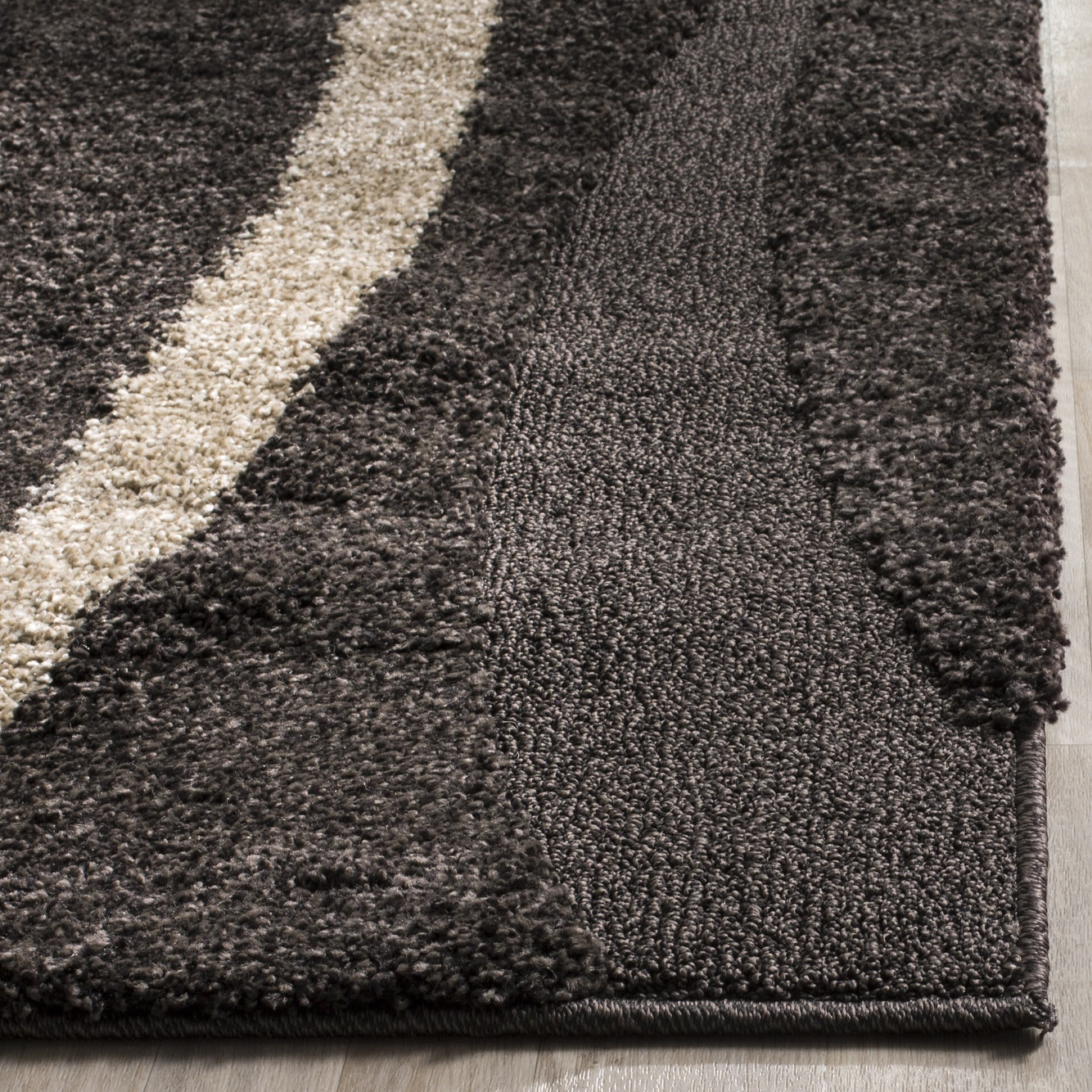 zoom brown shape chocolate white large rug shag black fullxfull bedroom plush mcax mat soft shaggy faux listing room il luxury rectangle fur living