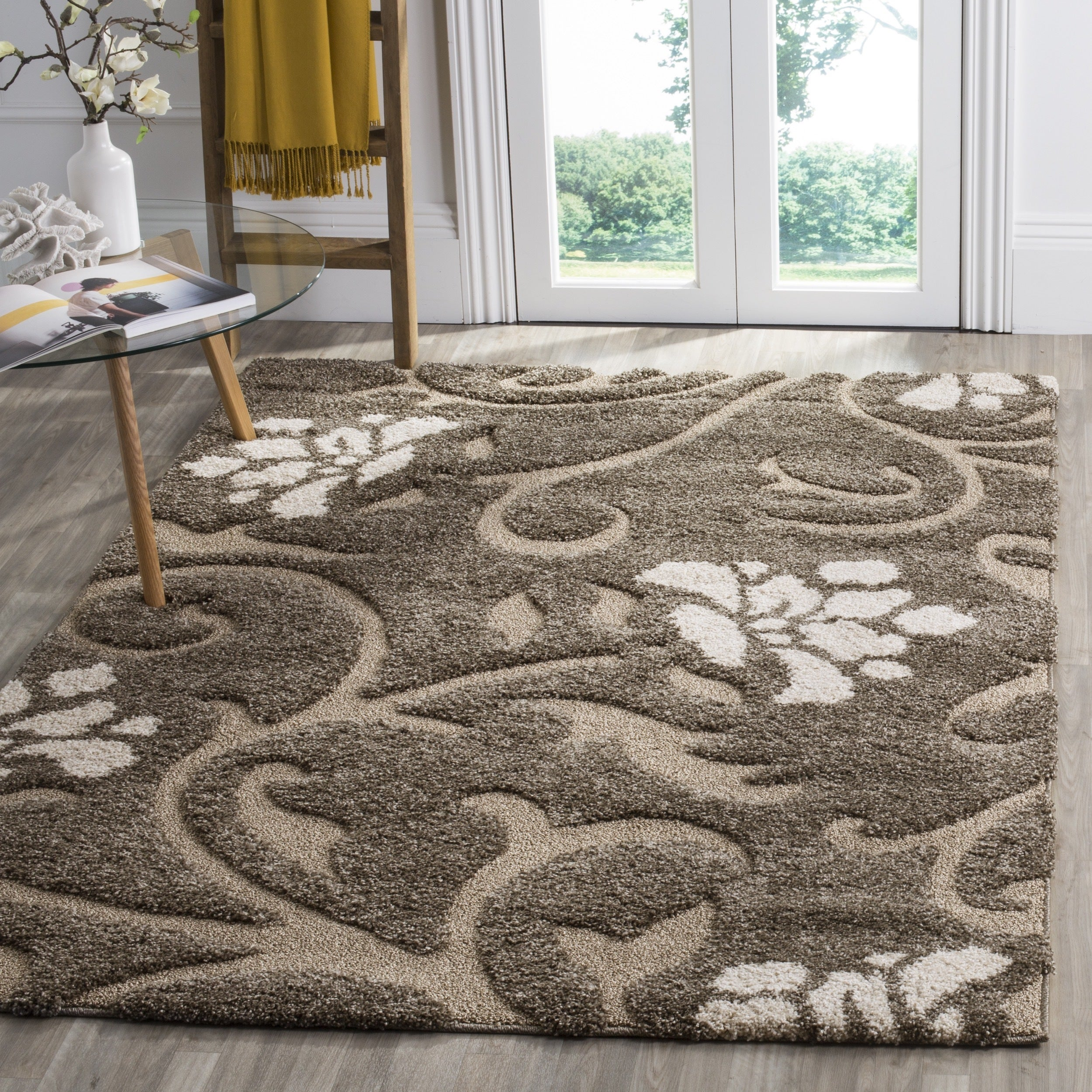 garden shipping beige safavieh overstock product florida today shag area home smoke free rug x