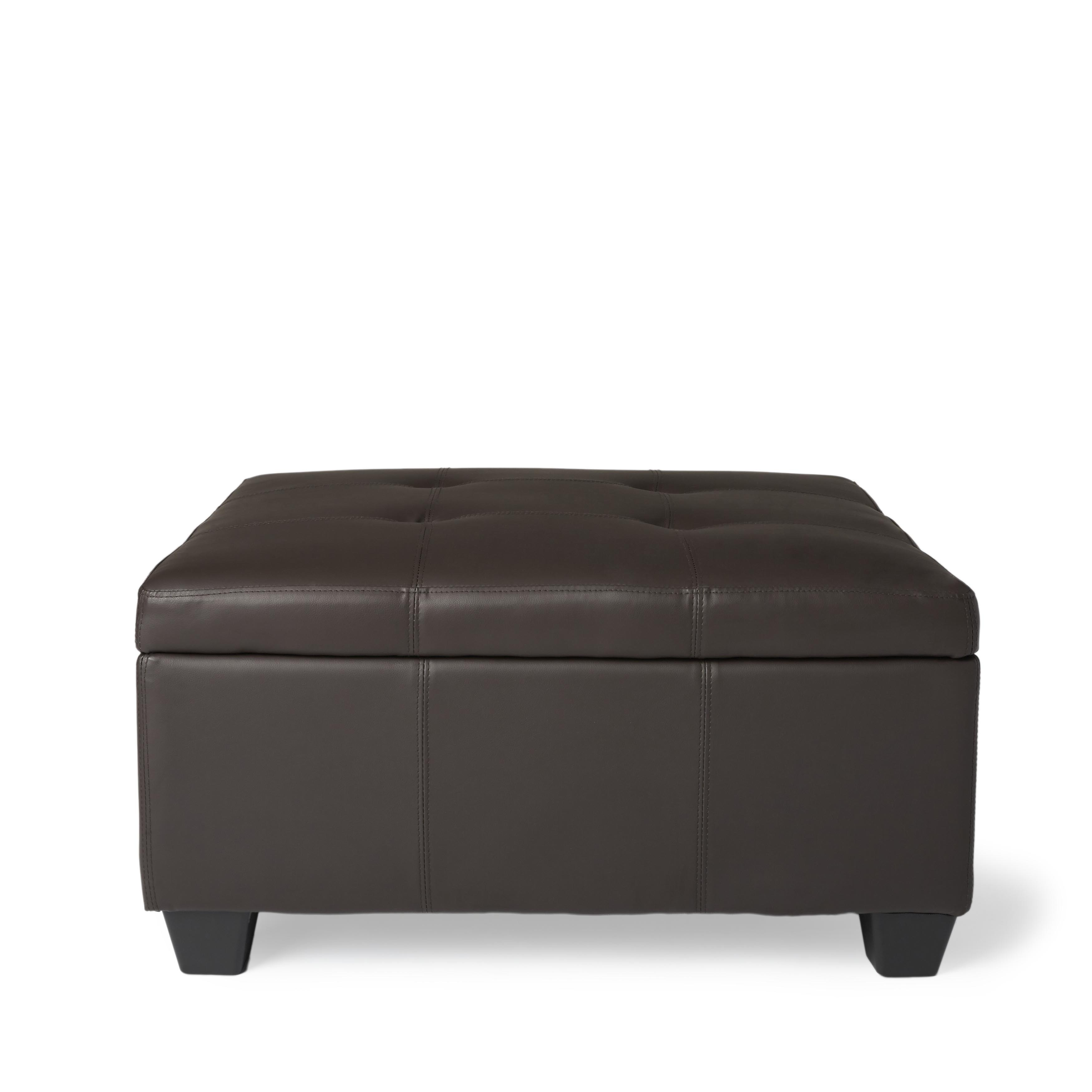 Shop Copper Grove Gowlland 36 Inch Square Hinged Storage Bench