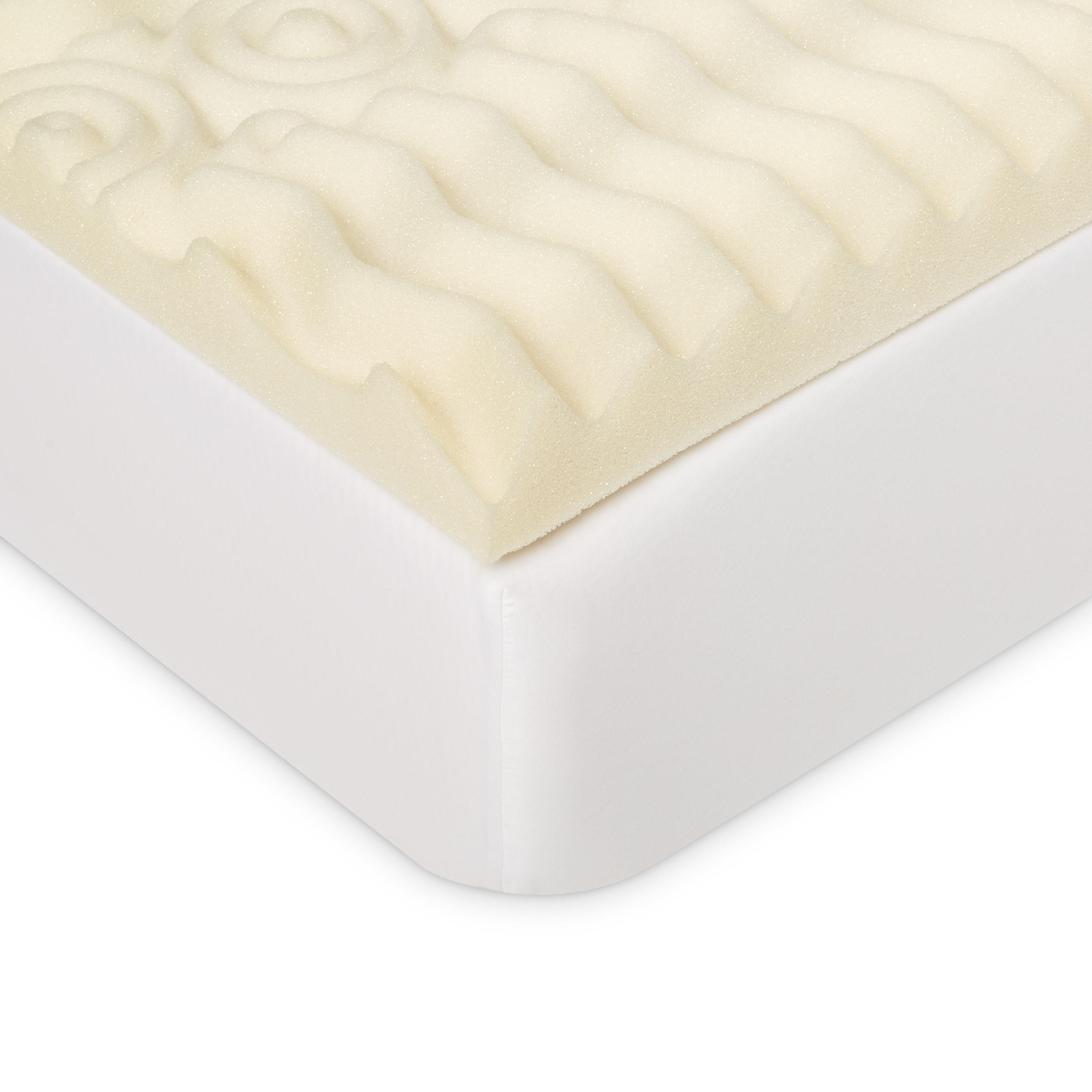 Select Luxury 3 inch Memory Foam 7 zone Mattress Topper Free