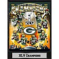 Super Bowl XLV Champion Green Bay Packers Stat Plaque
