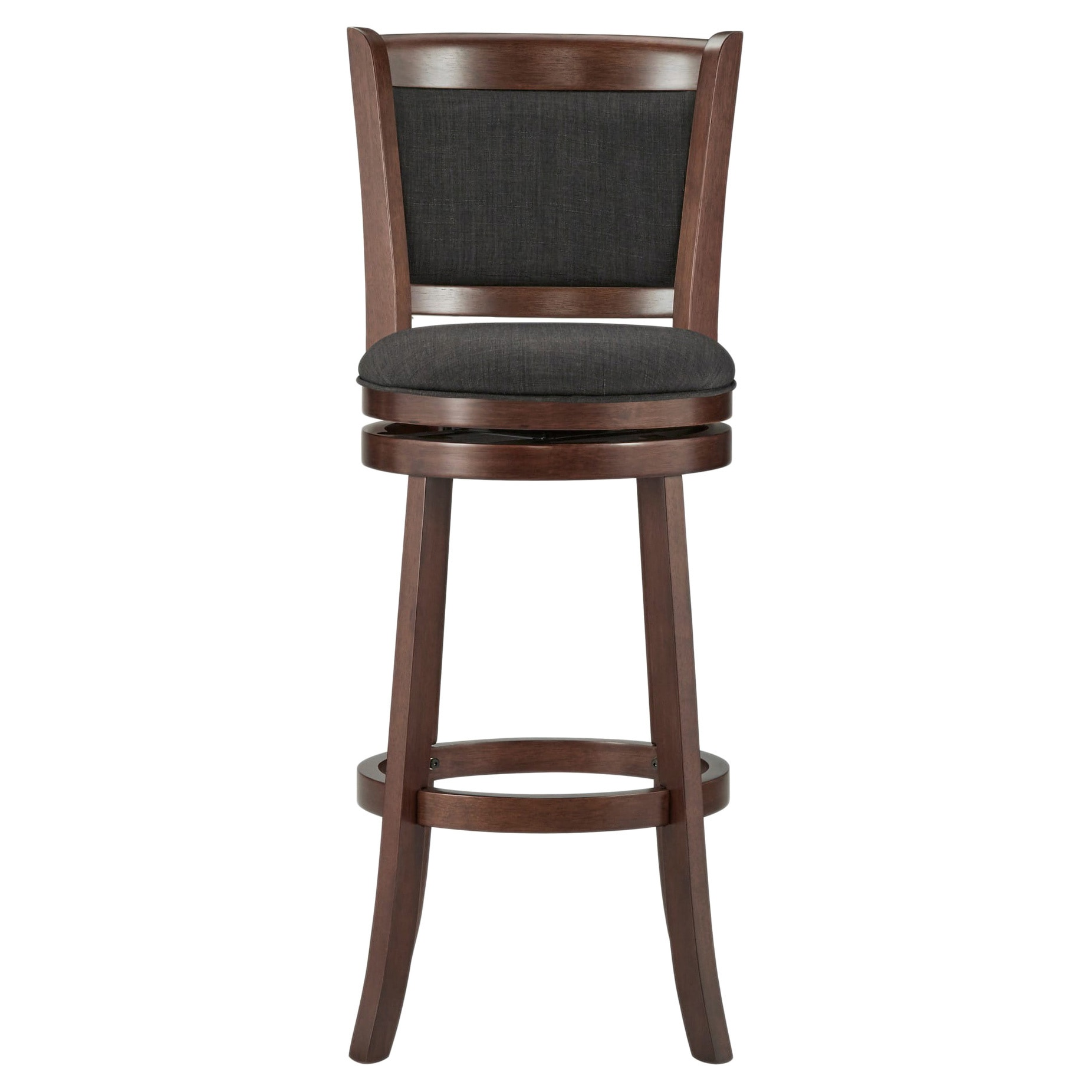 Shop verona panel back linen swivel 29 inch high back bar stool by inspire q classic on sale free shipping today overstock com 5688265