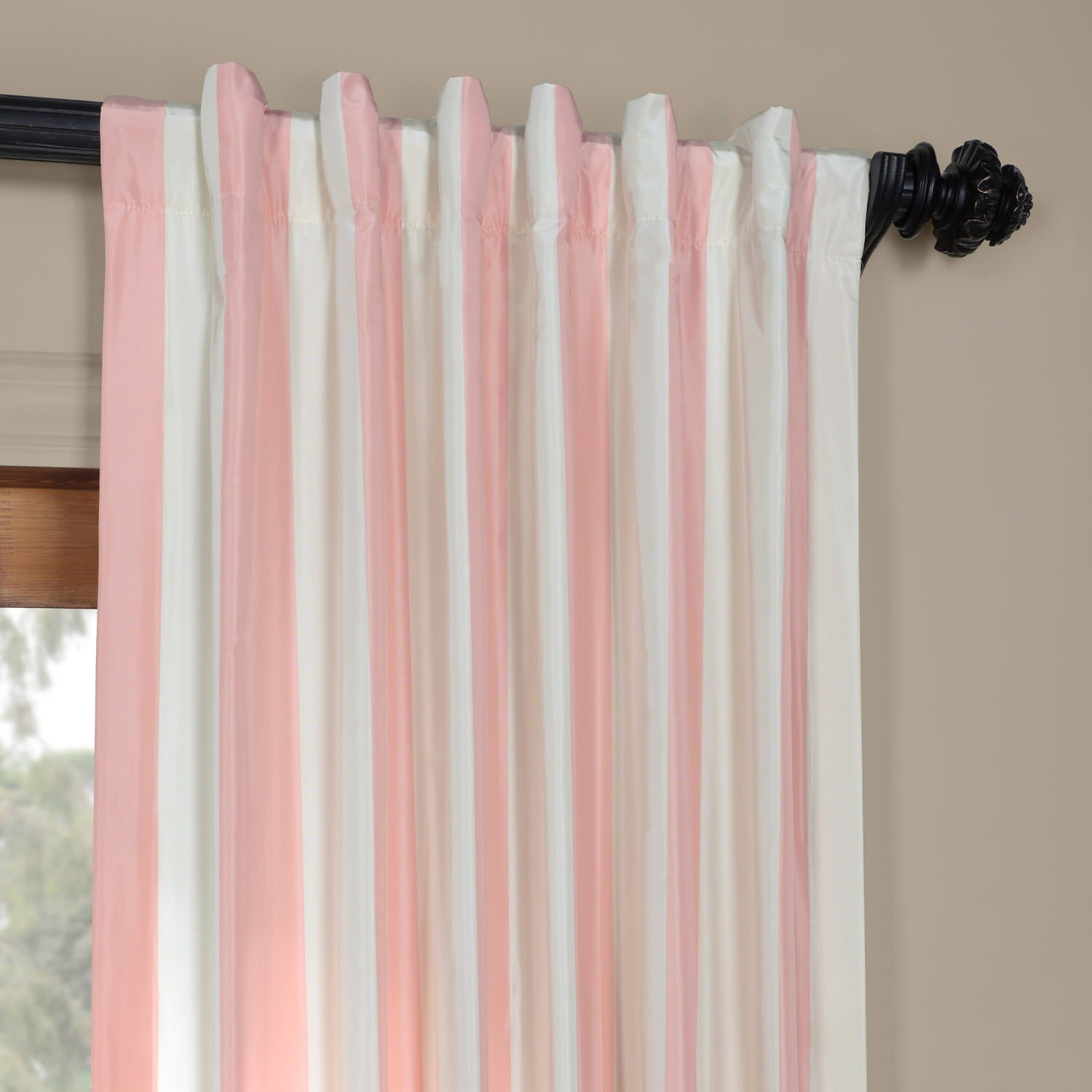 match home dotted ruffle mix size beautiful curtain curtains full image ideas of lace colored blush valance blackout pink aurora impressive