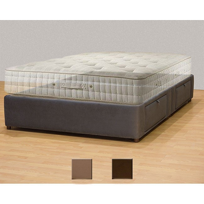 Tiffany 4 Drawer King Platform Bed Storage Mattress Box Free Shipping Today 5698557