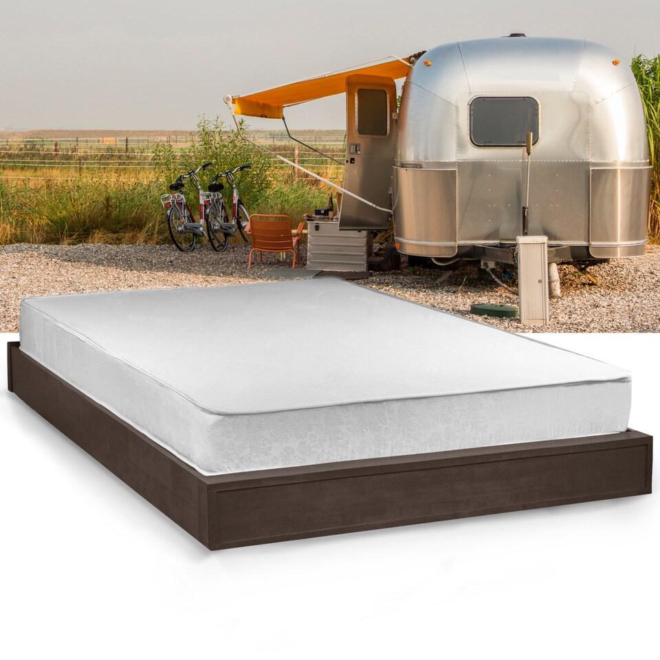 Shop Select Luxury Home RV 8-inch Queen-size Memory Foam Mattress ...