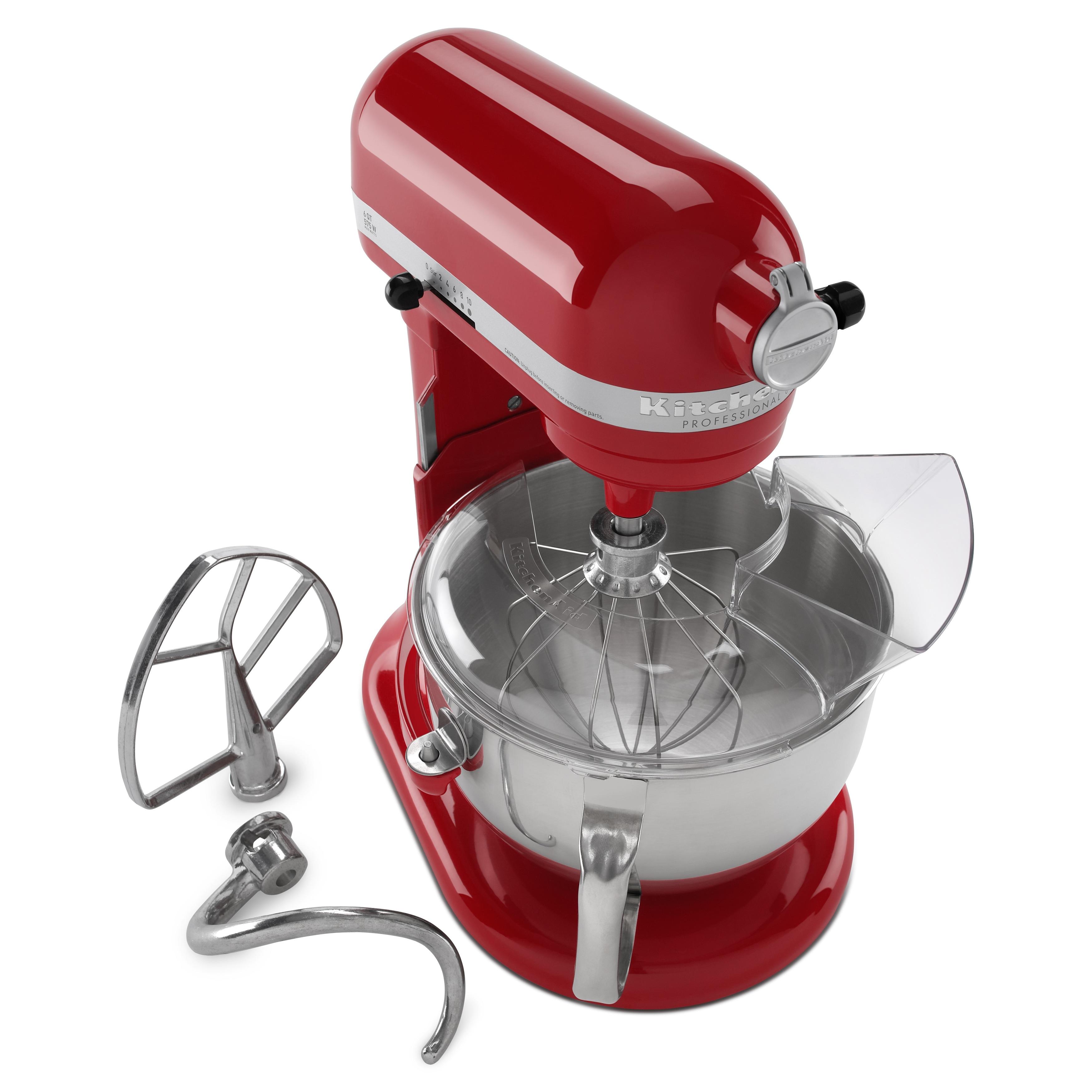 shop kitchenaid rkp26m1x 6 quart pro 600 stand mixer refurbished