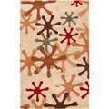 Hand-tufted Whimsy Off White Wool Rug (12' x 15')