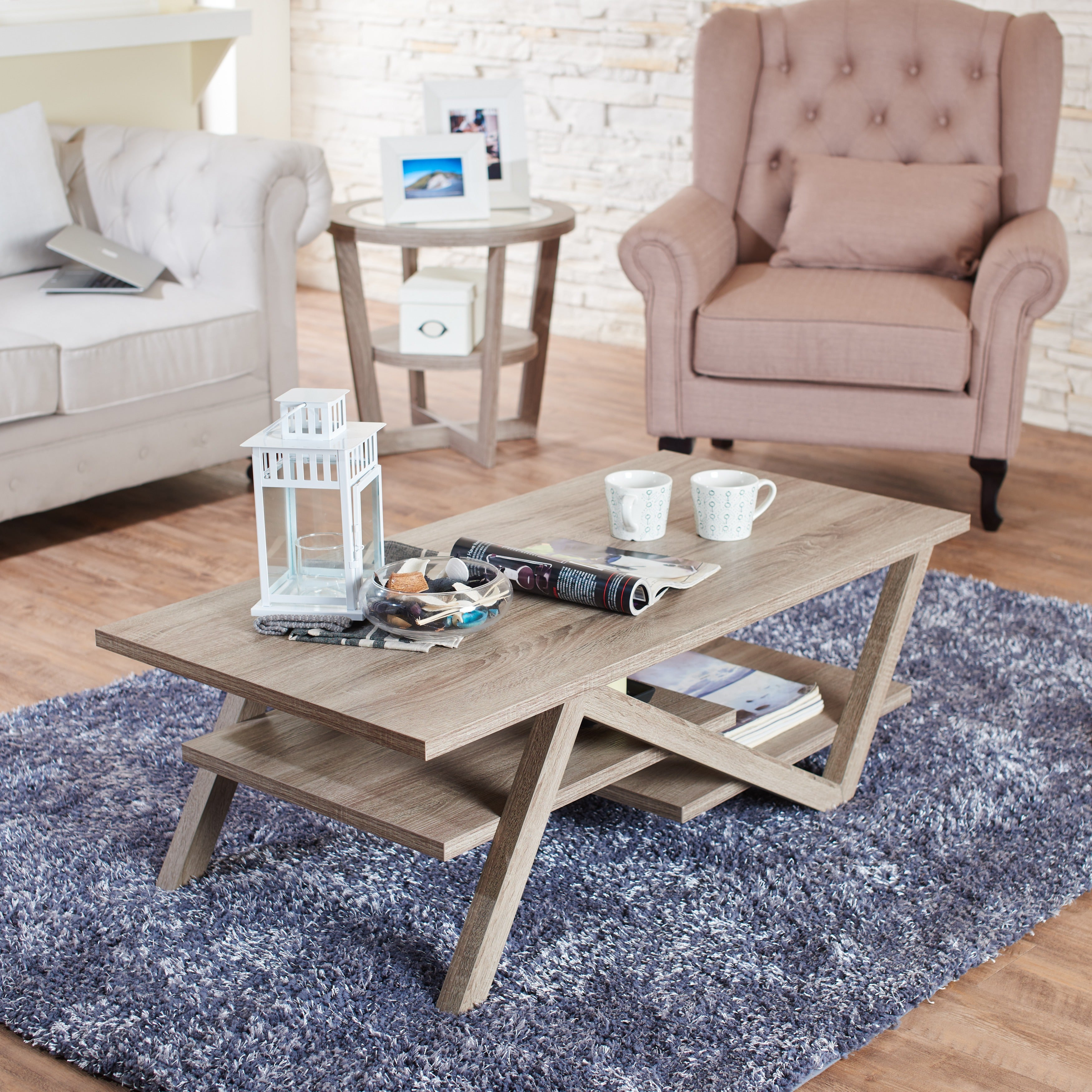 Delightful Furniture Of America Zoe Rectangular Coffee Table   Free Shipping Today    Overstock.com   13469180