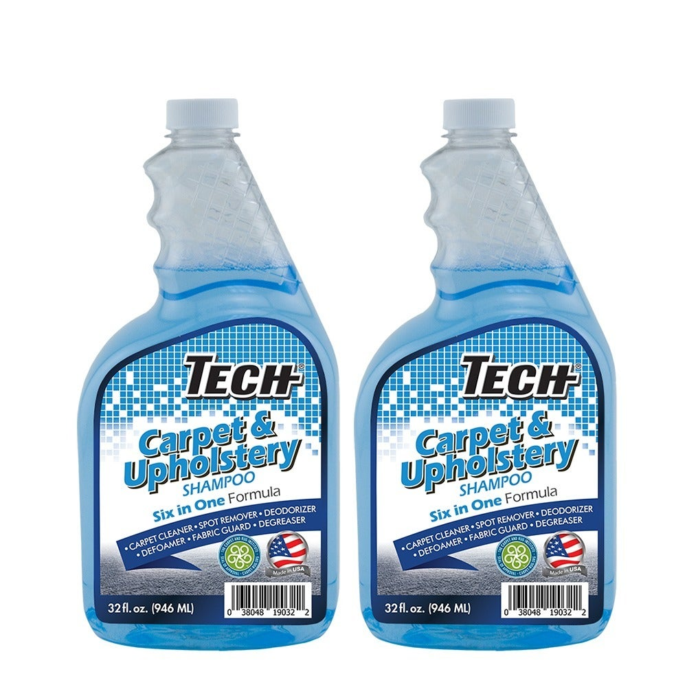 Shop Tech Extraction 32 oz. Upholstery and Carpet Shampoo (Pack of 2 ...