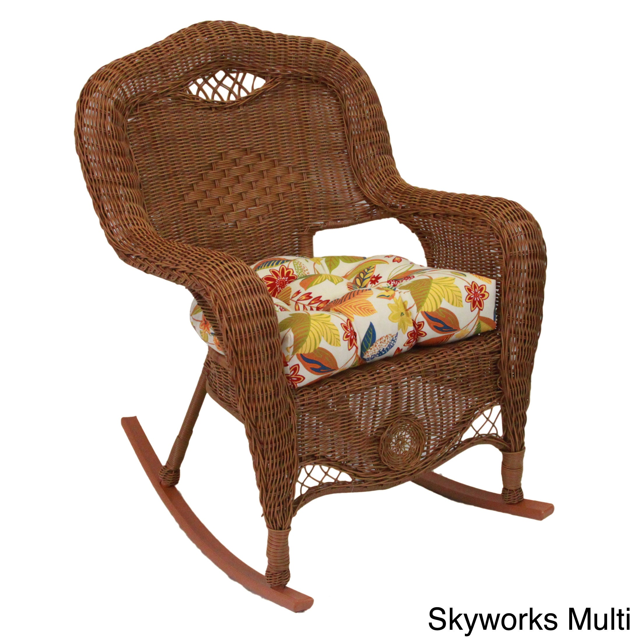 Shop All Weather U Shaped Uv Resistant Outdoor Rocker Chair Cushion