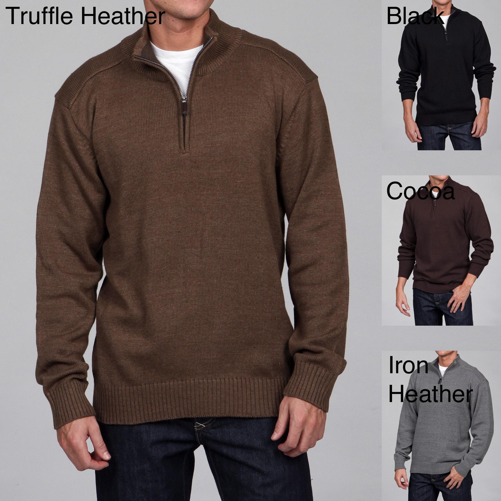 Shop Oscar De La Renta Mens 14 Zip Sweater Final Sale Free
