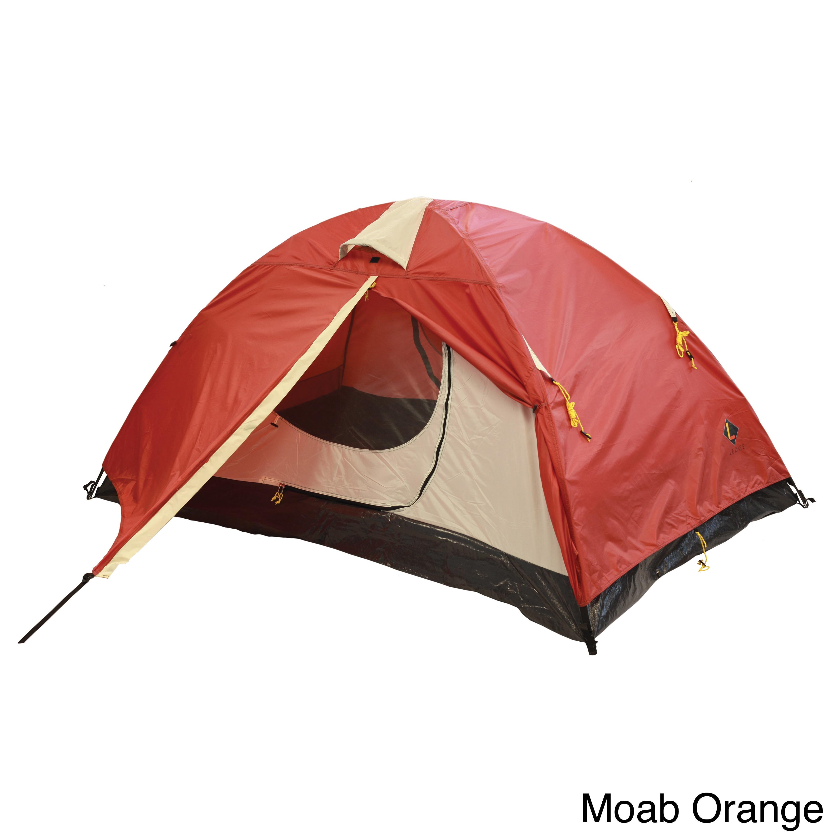 837e06542 Shop Ledge Tarantula 2-person Dual Door/ Vestibule Tent - Free ...