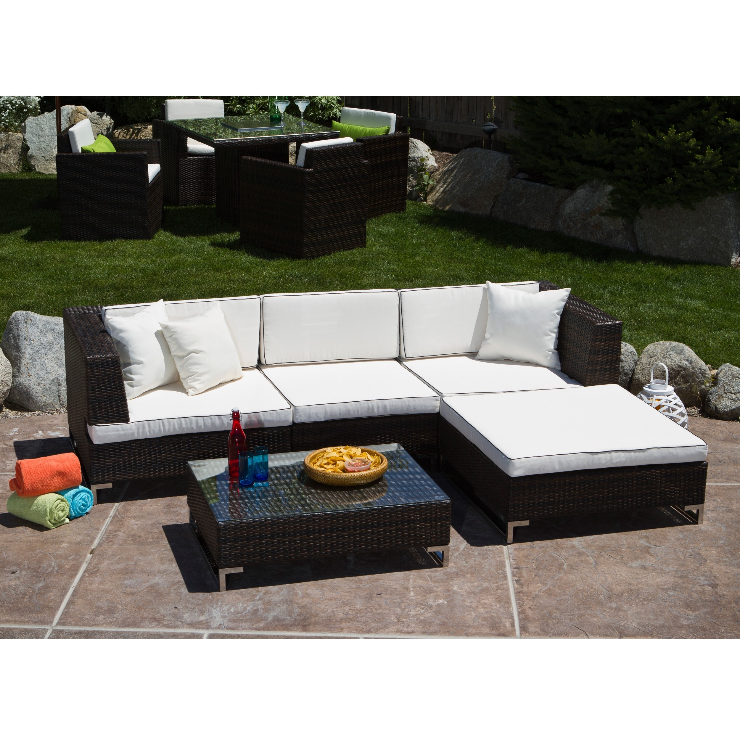 viro sectional wicker graphite miamioutdoorwickersectionalsetpatiofurnitureinvirographite furniture in and miami set patio outdoor blue azure