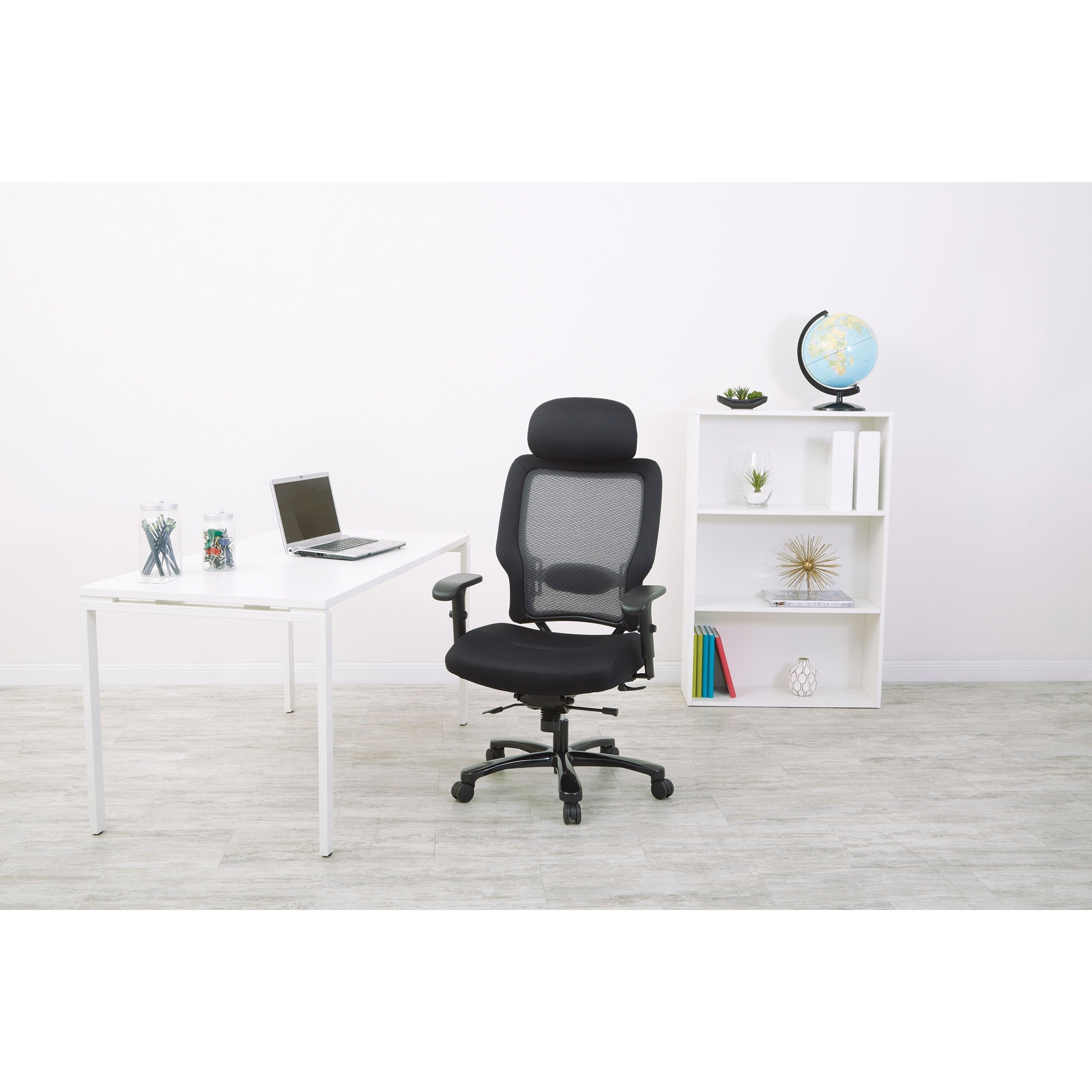 Shop Office Star AirGrid Back And Mesh Seat Big And Tall Chair   N/A   Free  Shipping Today   Overstock.com   5764846