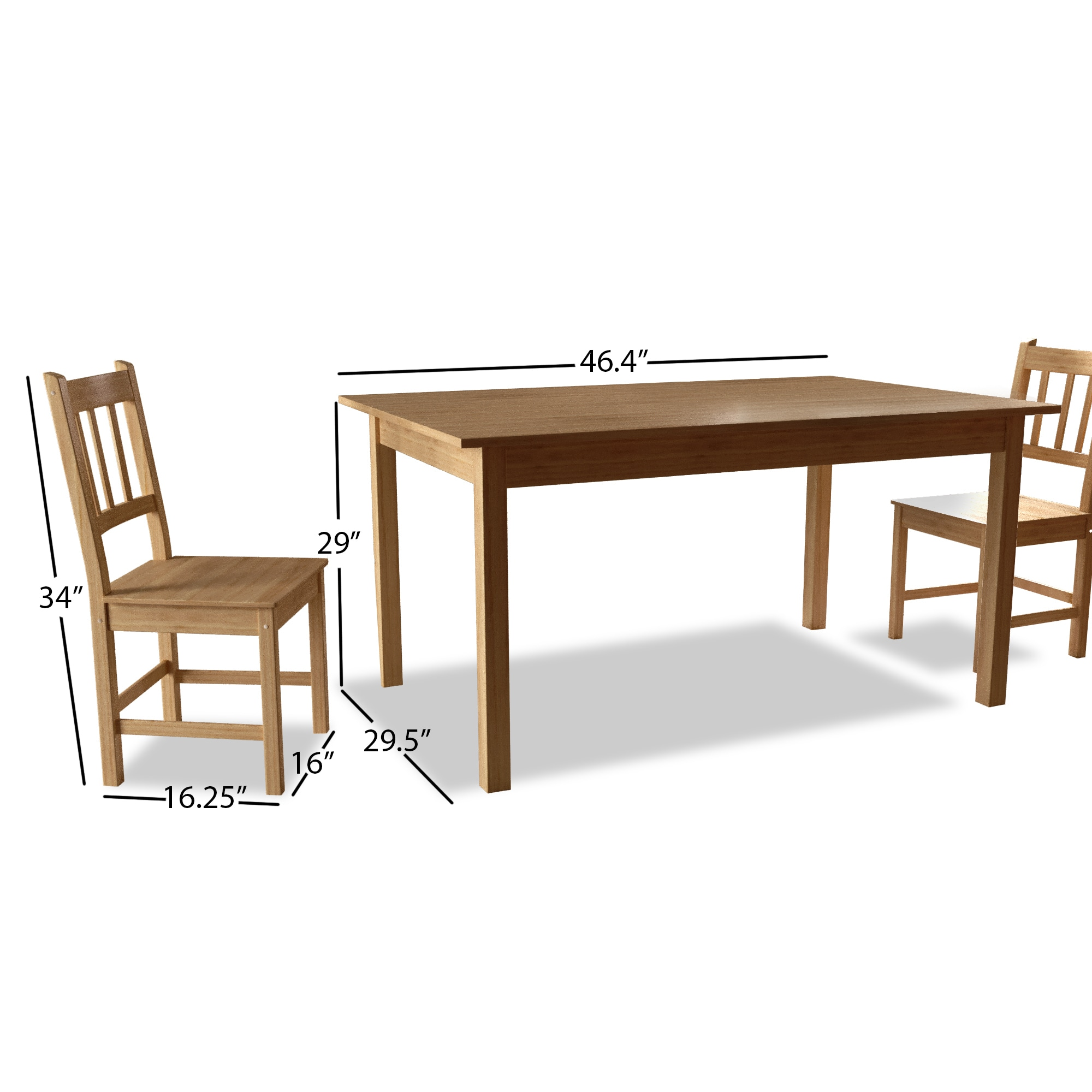 Great Shop Simple Living Bamboo 5 Piece Dining Set   Free Shipping Today    Overstock.com   5767578