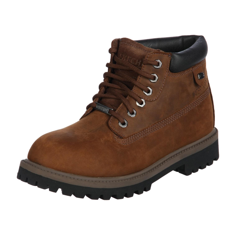 bf5f4d6130e8 Shop Skechers Men s Waterproof  6-Eye  Verdict Bottom Boots FINAL SALE -  Free Shipping On Orders Over  45 - Overstock - 5767799
