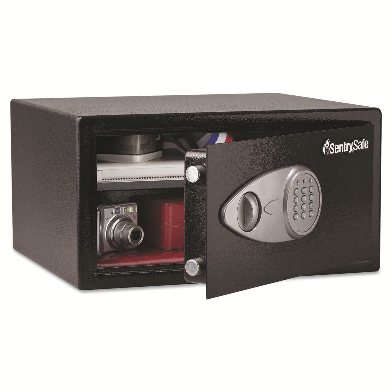 Shop Sentry Safe 1 Cu Ft Electronic Lock Security Black Safe Free