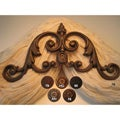 Verona Scroll 14-inch Drapery Crown
