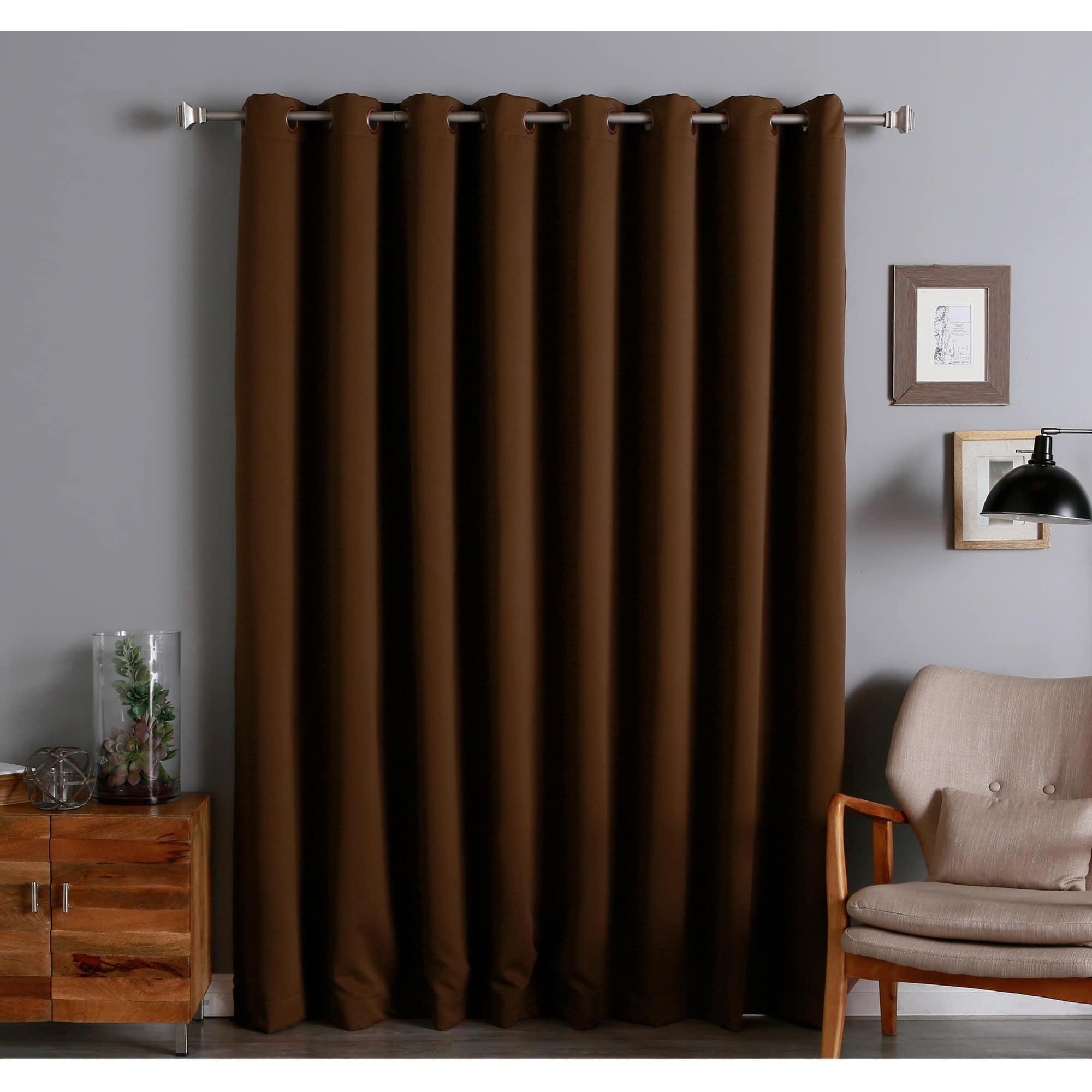walmart inch ip com drapes rod decopolitan adjustable long urn set double curtain