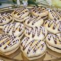 Oma Gisi's Nougat and Truffle-filled Sandwich Cookies (Box of 12)