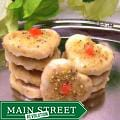 Oma Gisi's Glazed Orange Pistachio Heart Cookies (Box of 24)