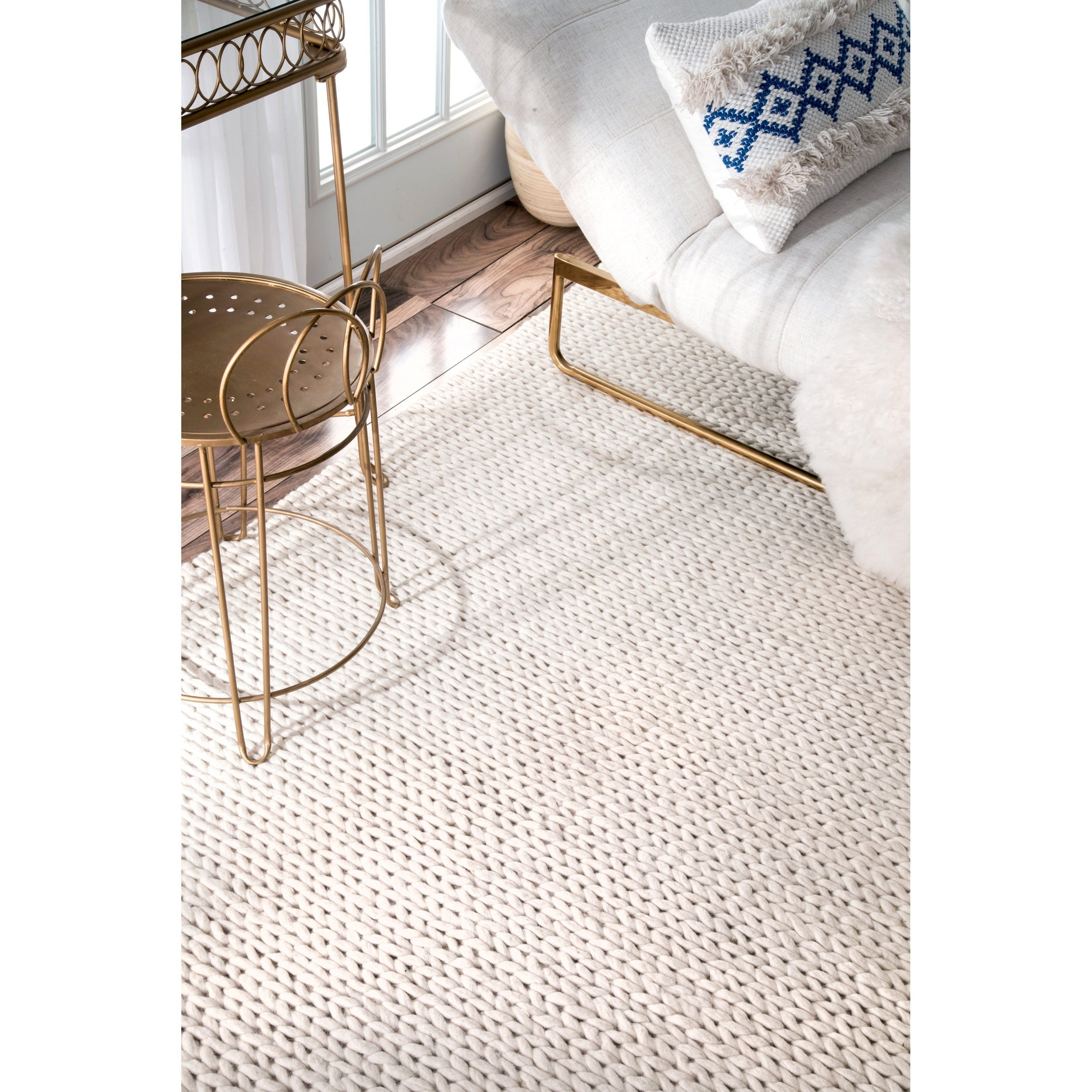 today free rug product new cable garden nuloom home wool zealand shipping overstock x braided handmade