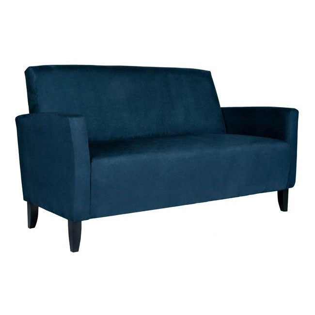 Handy Living Sutton Midnight Blue Sofa Free Shipping Today 5817221