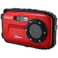 Coleman Xtreme 12MP Waterproof Red Digital Camera