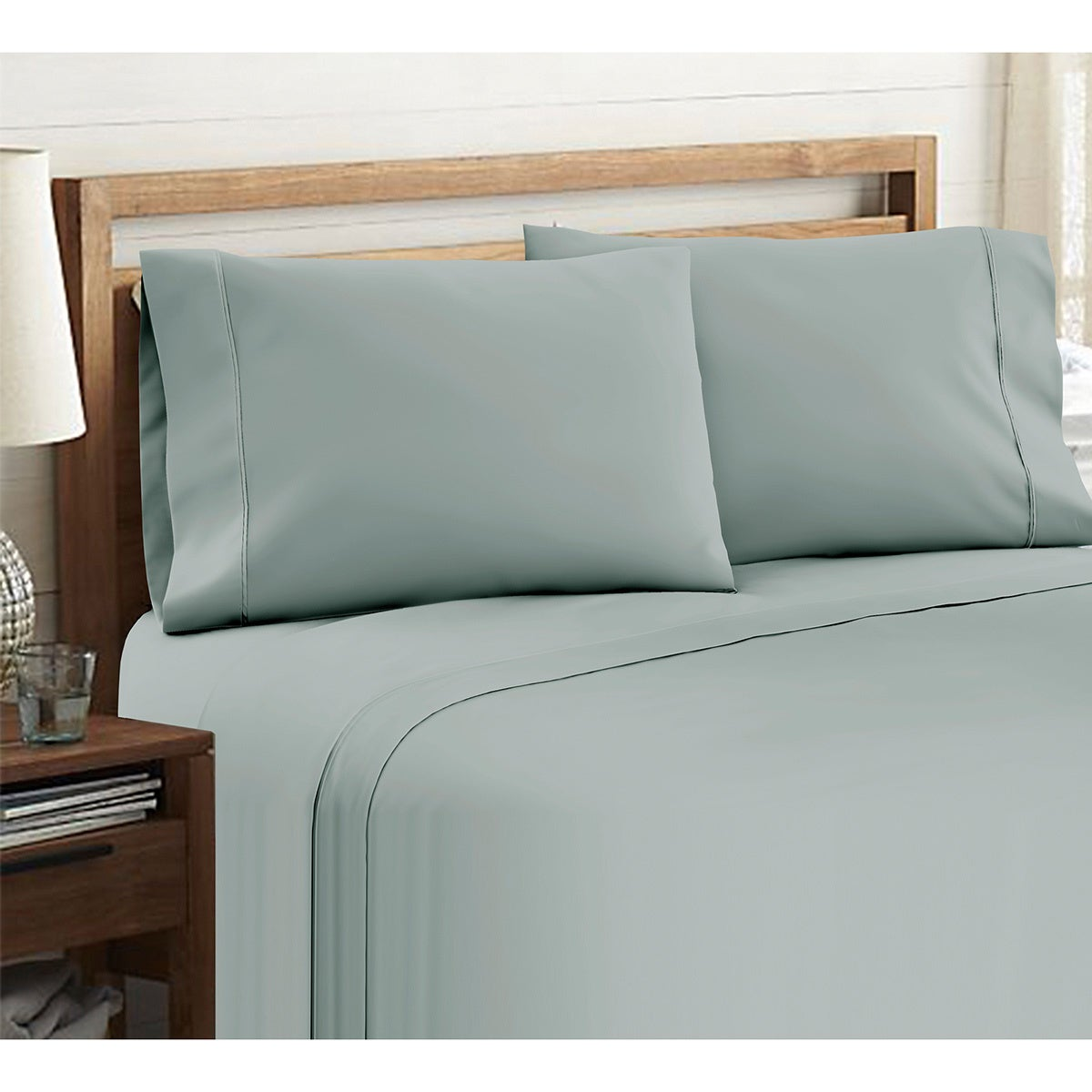 Attrayant Shop Luxury Cotton Rich 800 Thread Count Deep Pocket 6 Piece Sheet Set    Free Shipping Today   Overstock.com   5839313