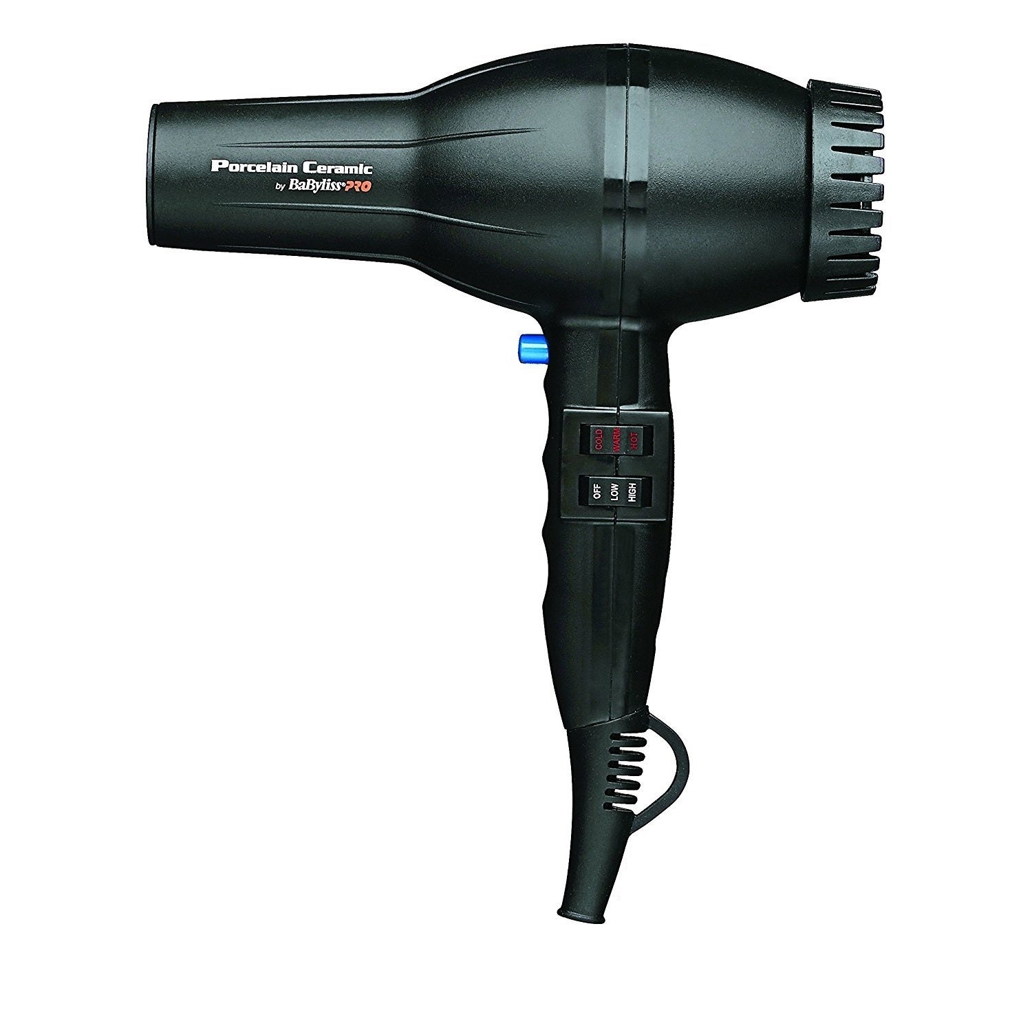 BaBylissPRO BABP2800 Black Porcelain Ceramic 2000 Watt Dryer
