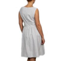 Jessica Howard Women\'s Plus Size Lace Seersucker Dress