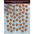 American Coin Treasures Lincoln Memorial Penny Collection 1959-2008