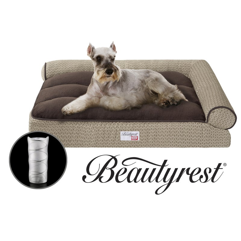 Simmons Beautyrest Right Angle Bolster Lounger Pet Bed Free Shipping Today 5877408