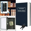 Dictionary Diversion Book Safe with Key Lock Set of 2